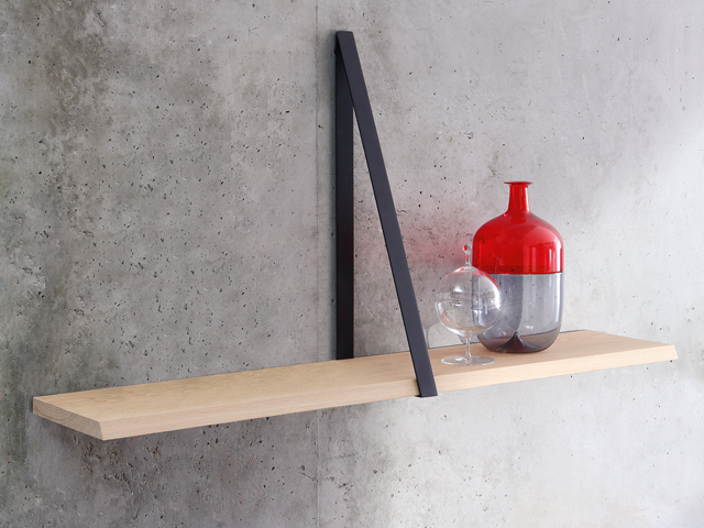 T-Square Natural Shelf