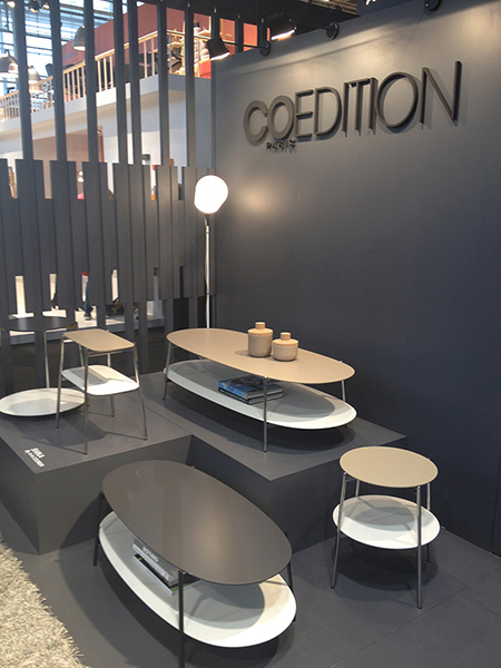 coedition stand coedition maison objets 2014. Black Bedroom Furniture Sets. Home Design Ideas