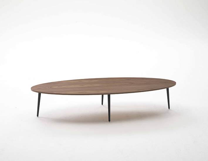 Coedition table basse ovale soho - Table basse bois ovale ...