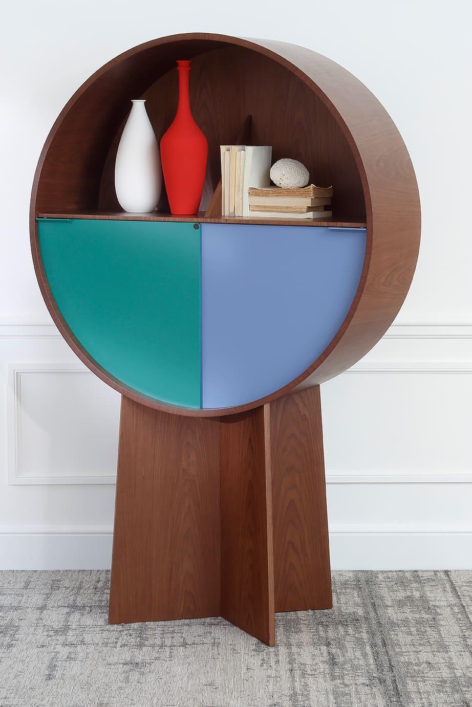 Luna Cabinet, Walnut