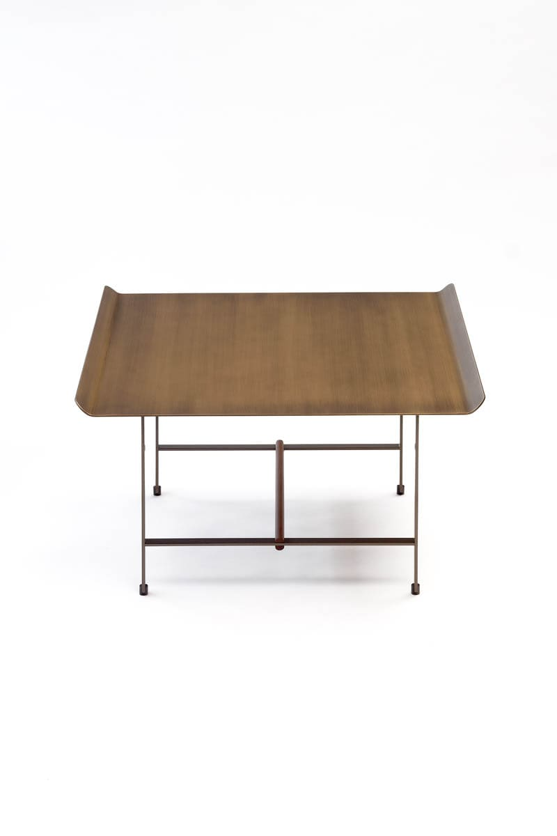 Sister coffee table, bronze